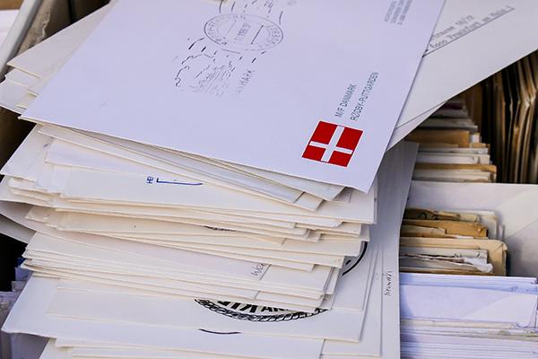 Ansichtkaarten en Poststukken Manifestatie