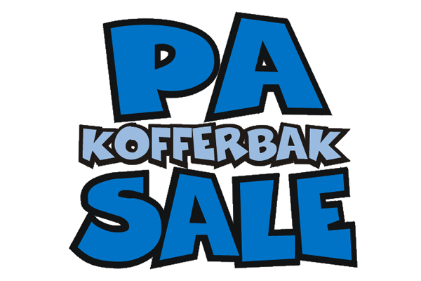 PA-kofferbak sale